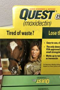 Found This Image On A Display For Horse Wormer.