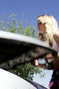 Hot Emily Austin Hardcore Car Repair