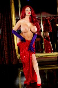 Topless Jessica Rabbit By Summer Brielle NSFW