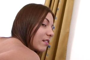 Interracial hard fuck for sweet girl that wants some BBC