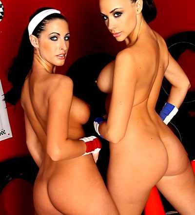 Rack Racers – Chanel Preston Kortney Kane – Big Tits In Sports